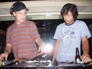 (L) Rowl Berrycloth and (R) DJ Allrock
