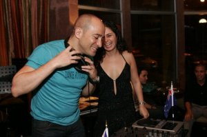 Elian Habayeb and Ines Cabarrus