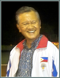 Philippine Olympic Committee President Jose S. Cojuangco Jr.