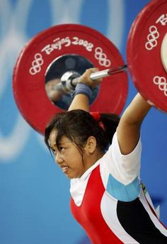 Philippine Olympic Weightlifter Hidilyn Diaz