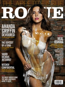 Amanda Griffin-Jacob on the August cover of Rogue
