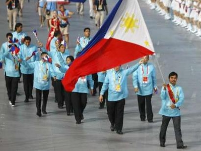 The Philippine Olympic Team at 2008 Beijing Olympics