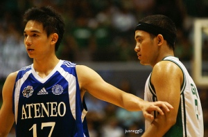 Chris Tiu vs JV Casio, Ateneo vs La Salle