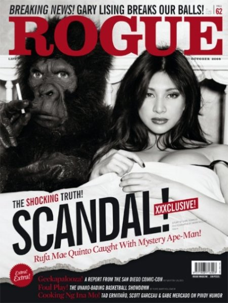 Ruffa Mae Quinto on Rogue's October Cover