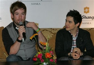 David Cook and David Archuleta To Perform In Manila