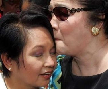 Gloria Macapagal Arroyo and Imelda Marcos