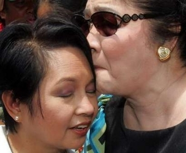 Gloria Macapagal Arroyo and Imelda Marcos
