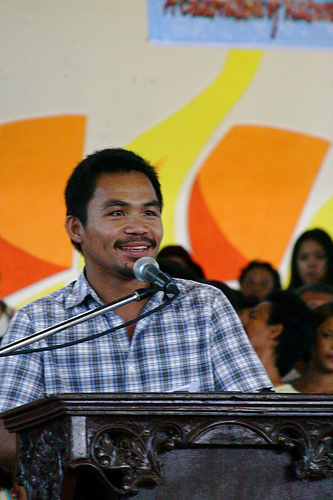 Manny Pacquiao For Congress in 2010 - God Save The Philippines!
