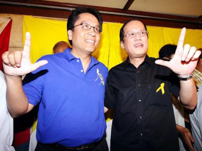 Mar Roxas for VP and Noynoy Aquino for President