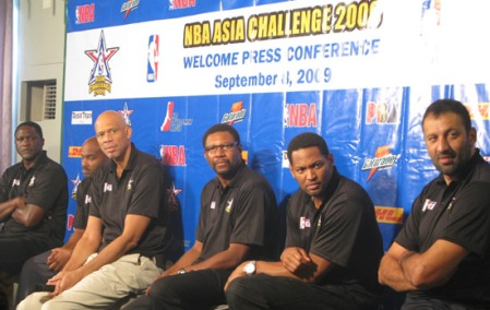 NBA Legends To Play Against PBA All Stars