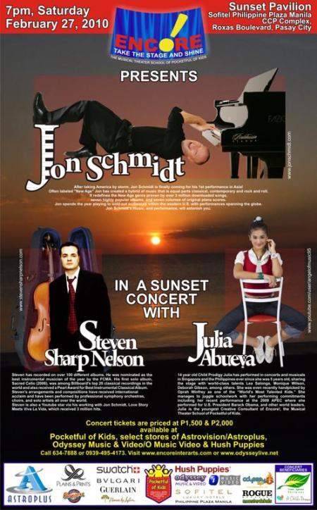 Jon Schmidt Live in Manila