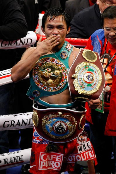 Manny Pacquiao Is BWAA Fighter of The Decade
